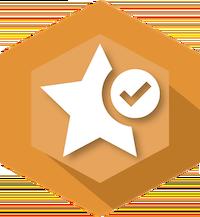 Start checkmark icon